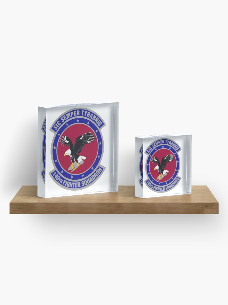 Alternate view of 149th Fighter Squadron Acrylic Block