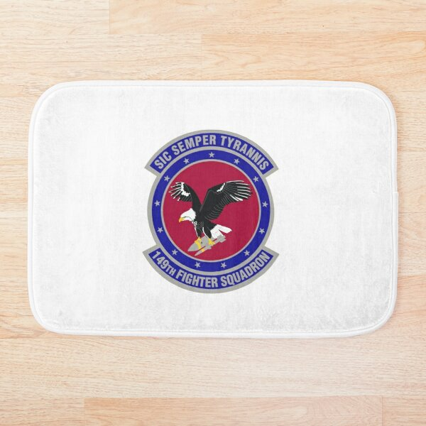 149th Fighter Squadron Bath Mat