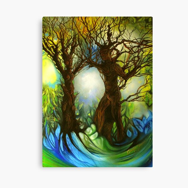 The Dance of Life Canvas Print