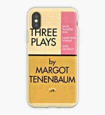 Three Plays by Margot Tenenbaum iPhone Case