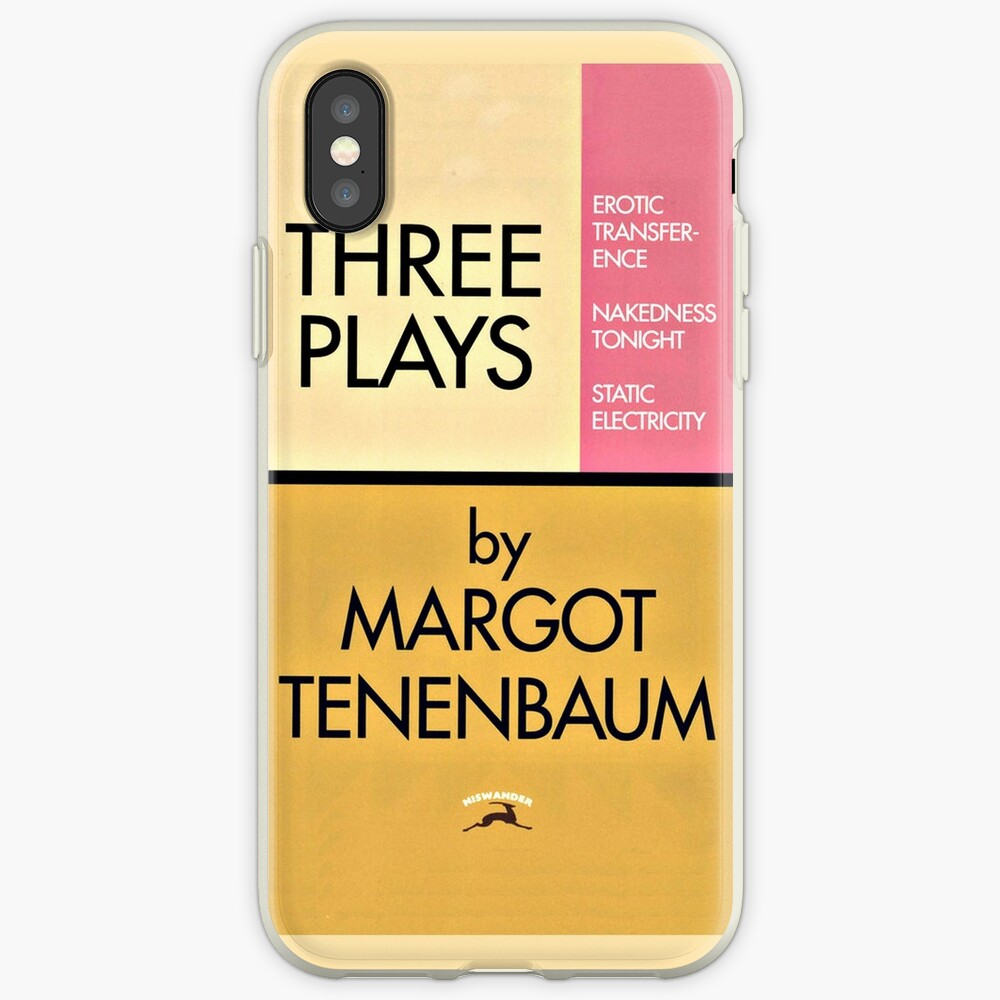 Three Plays by Margot Tenenbaum iPhone Case & Cover
