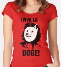 Viva la Doge Women's Fitted Scoop T-Shirt