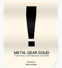 Metal Gear Minima Poster