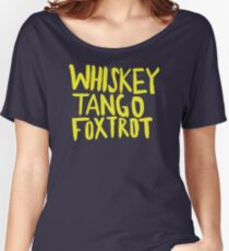 Whiskey Tango Foxtrot - Color Edition Women's Relaxed Fit T-Shirt