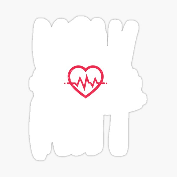 Holy HIIT heart gym lift fitness cool gym Gift Sticker