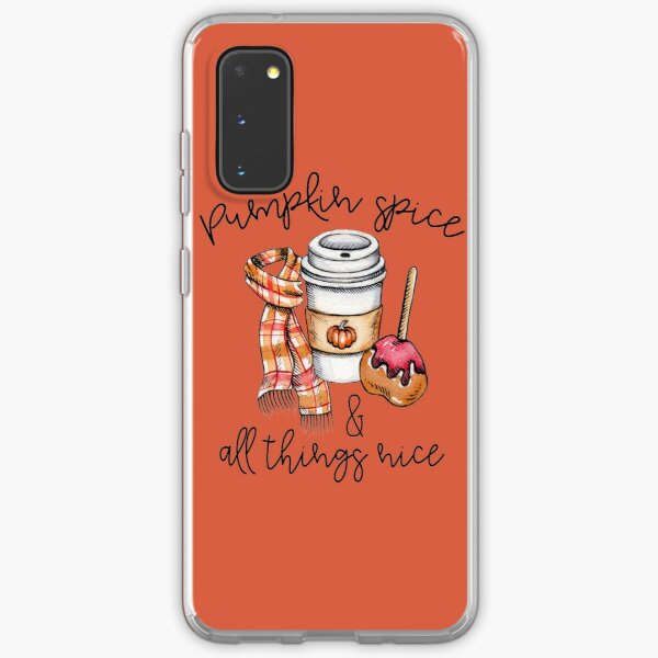 Pumpkin Spice And All Things Nice Samsung Galaxy Soft Case