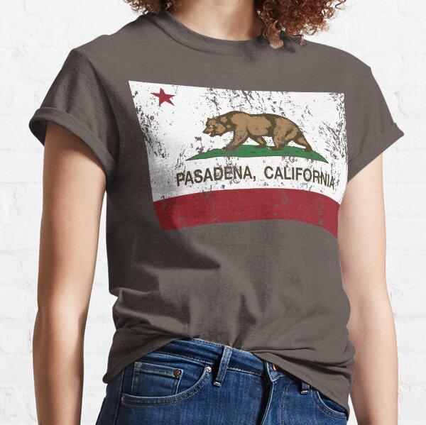 Pasadena California Republic Flag Distressed Classic T-Shirt