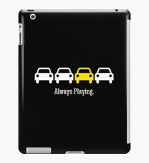 Cabin Pressure - Always Playing Yellow Car iPad Case/Skin