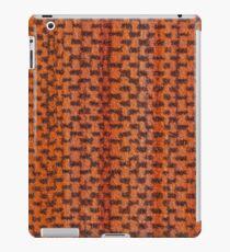 Orange vinyl texture iPad Case/Skin