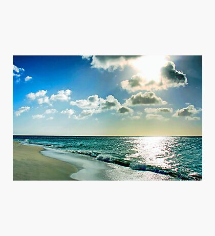 White Healing Light Photographic Print