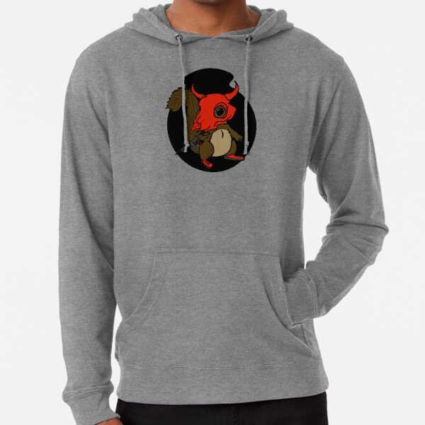 Jammer the Delta Company Mascot Lightweight Hoodie