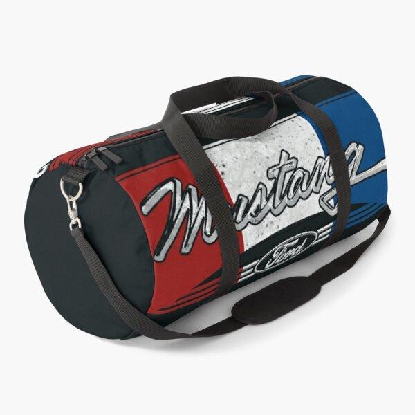 Mustang Retro Sign Duffle Bag