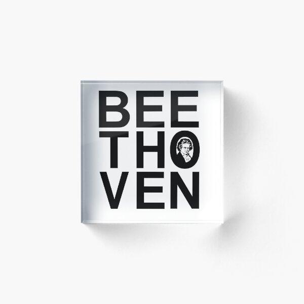 Beethoven  Acrylblock