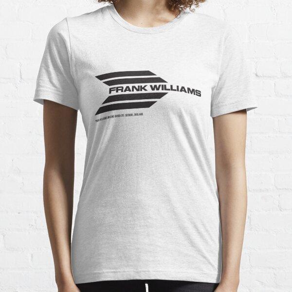 Frank Williams Racing 1969-70 team logo (with address) - black  Essential T-Shirt
