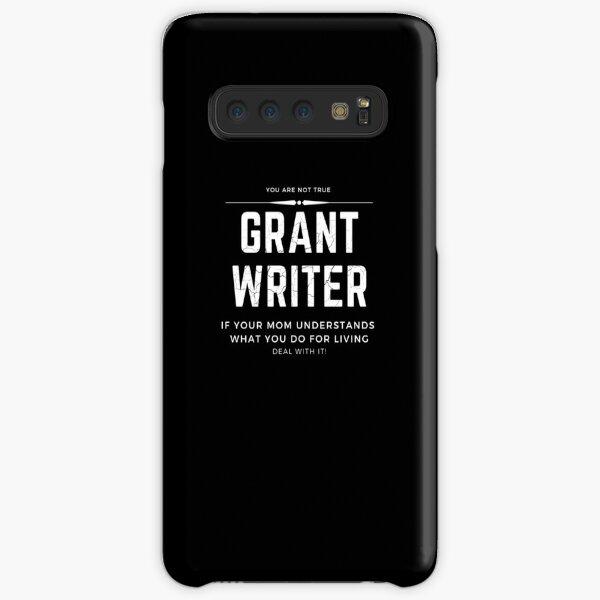 Verdadero escritor de subvenciones Funda rígida para Samsung Galaxy