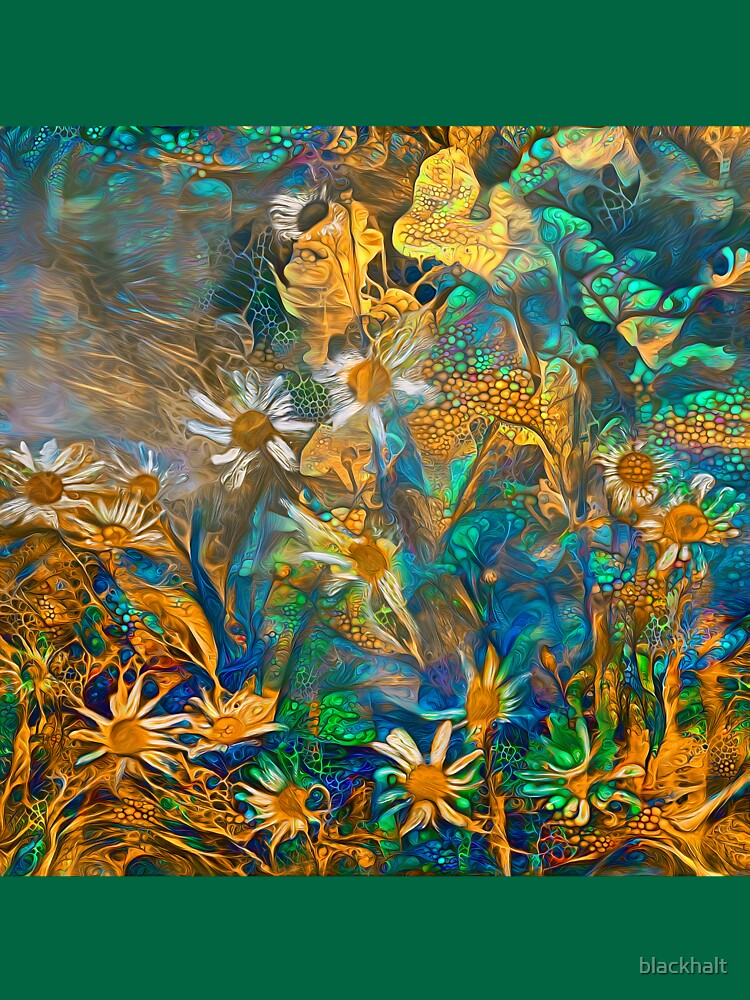 Floral abstract by blackhalt