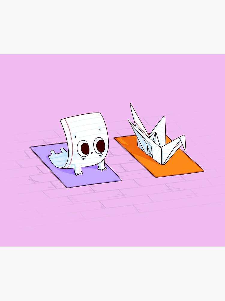 Yoga class by Naolito