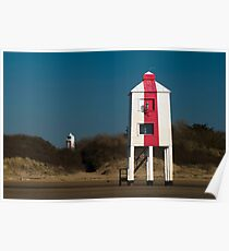 Burnham-on-Sea Lighthouses Poster