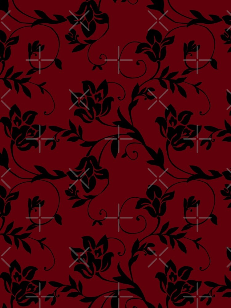 Floral Red by SusiBradley