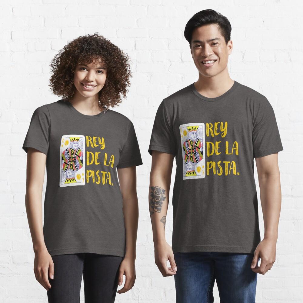 Rey de la pista de padel Camiseta esencial