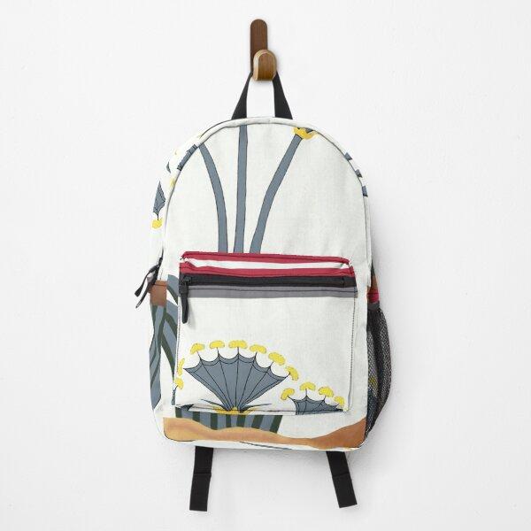 "Minoan Sea Daffodils ""Lilies"" Fresco Restoration Backpack"