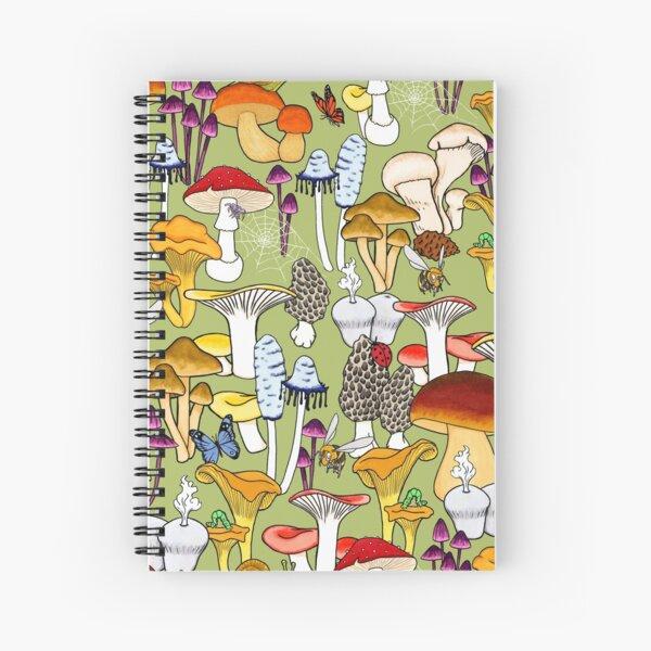 My Favorite Fungi Spiral Notebook