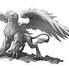 Western Harpy Griffin by Gregory Titus