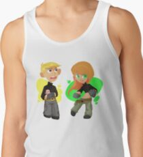 Kim Possible and Ron Stoppable chibi T-shirt Tank Top