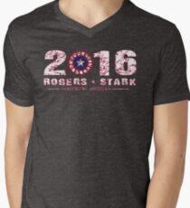 Rogers & Stark: 2016 Men's V-Neck T-Shirt