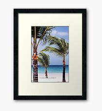 Dance of the Palm Trees Framed Print