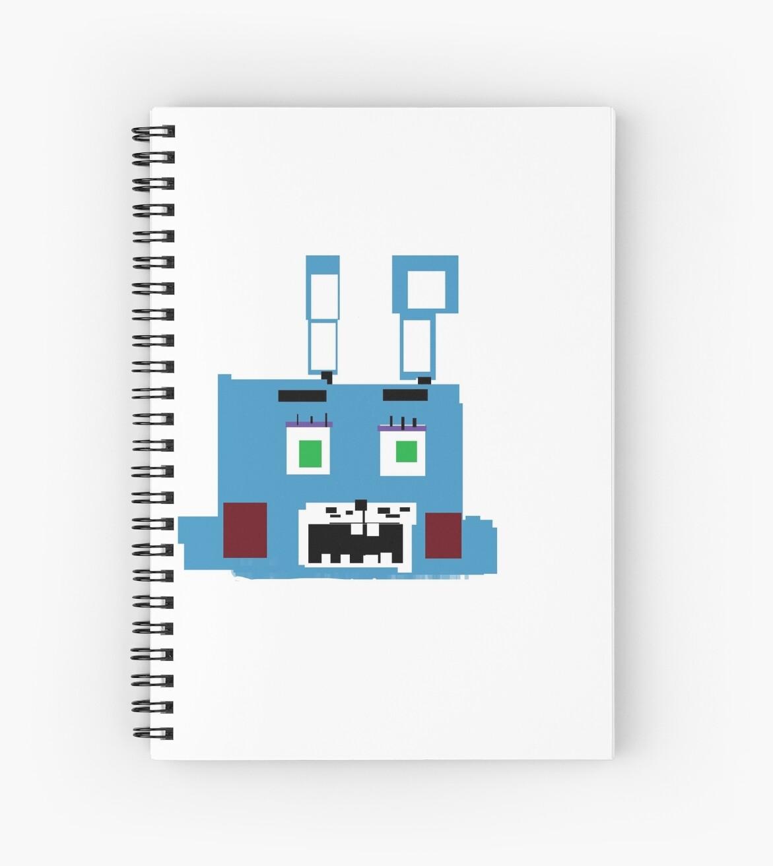 Bonnie NoteBook! by FoxyGamesXPRB