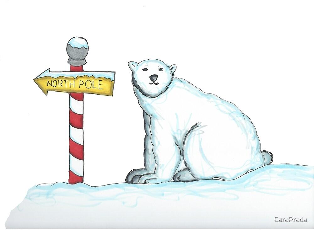 Day 13: Polar Bear by CaraPrada