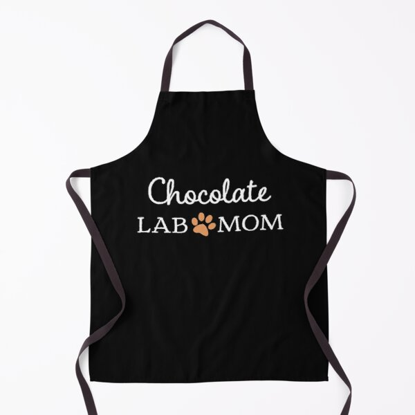 Chocolate Lab Mom for Proud Mamas Apron