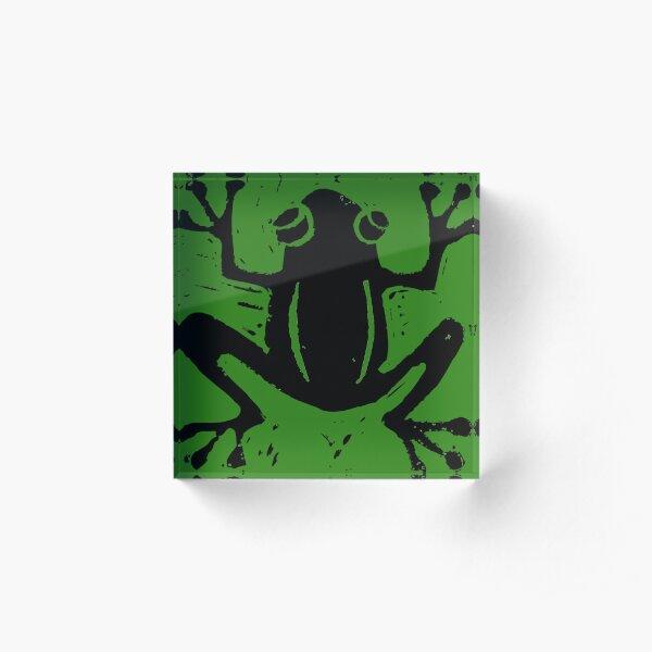 Tree Frog Acrylic Block