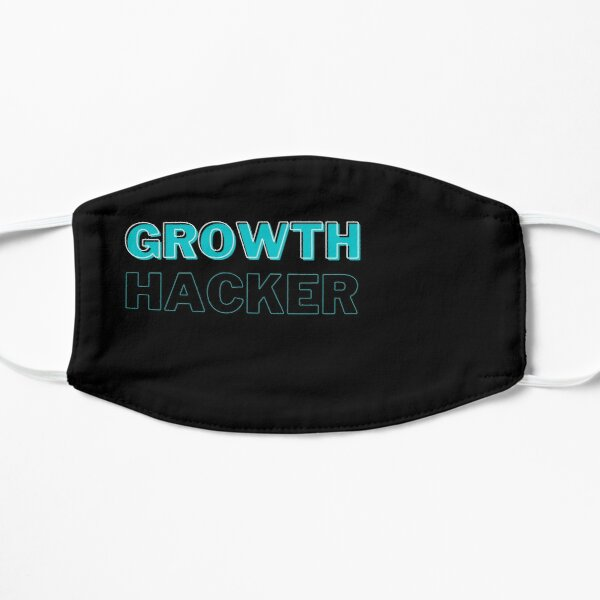 Growth Hacker Funky Marketing Mascarilla