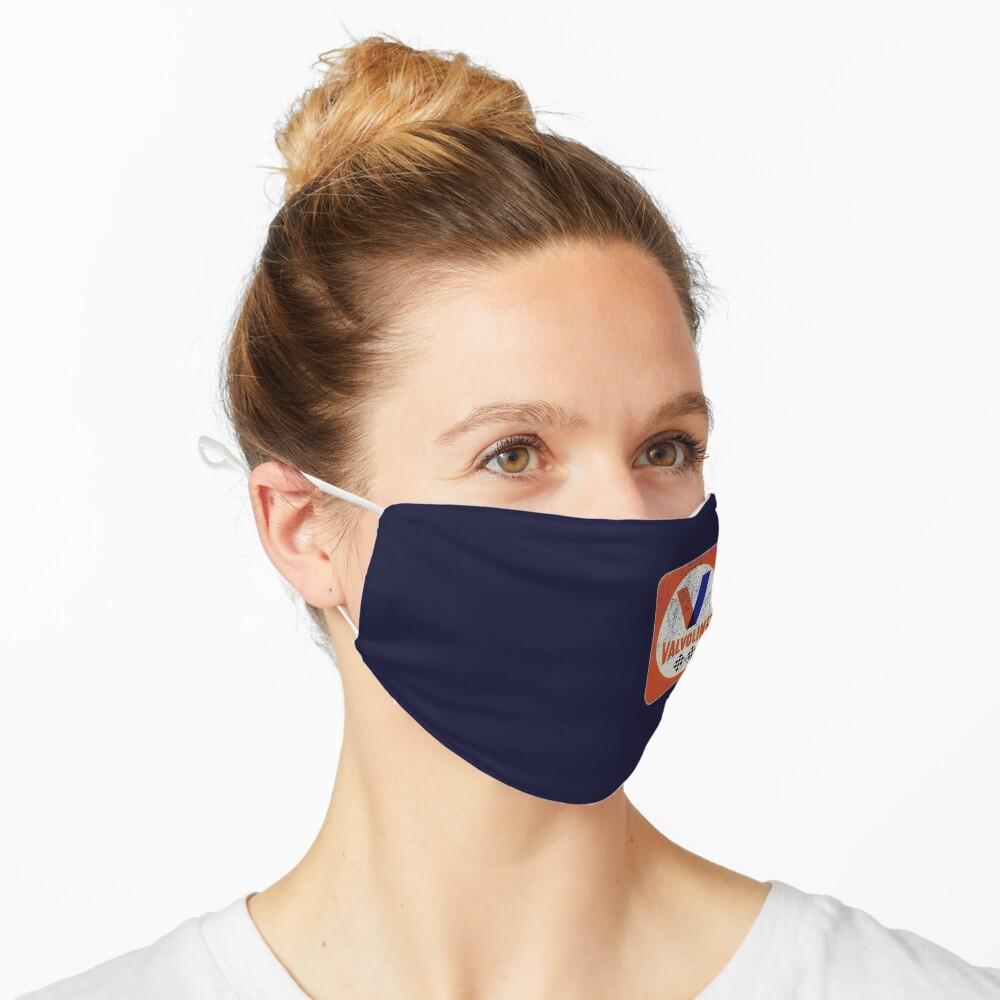 Masque «Badge porté rétro Valvoline»