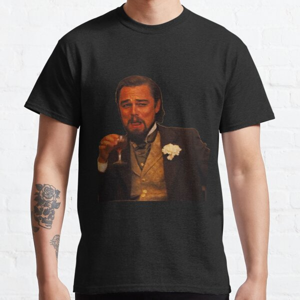 Laughing Leonardo DiCaprio Classic T-Shirt