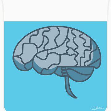 Brain in a jar (blue) by bridge8