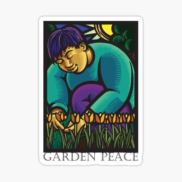 Tulip Gardener Sticker
