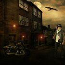 Night Rider ! by Irene  Burdell