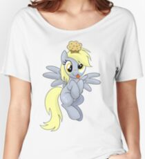 Derpy Muffins Shirt (My Little Pony: Friendship is Magic) Women's Relaxed Fit T-Shirt