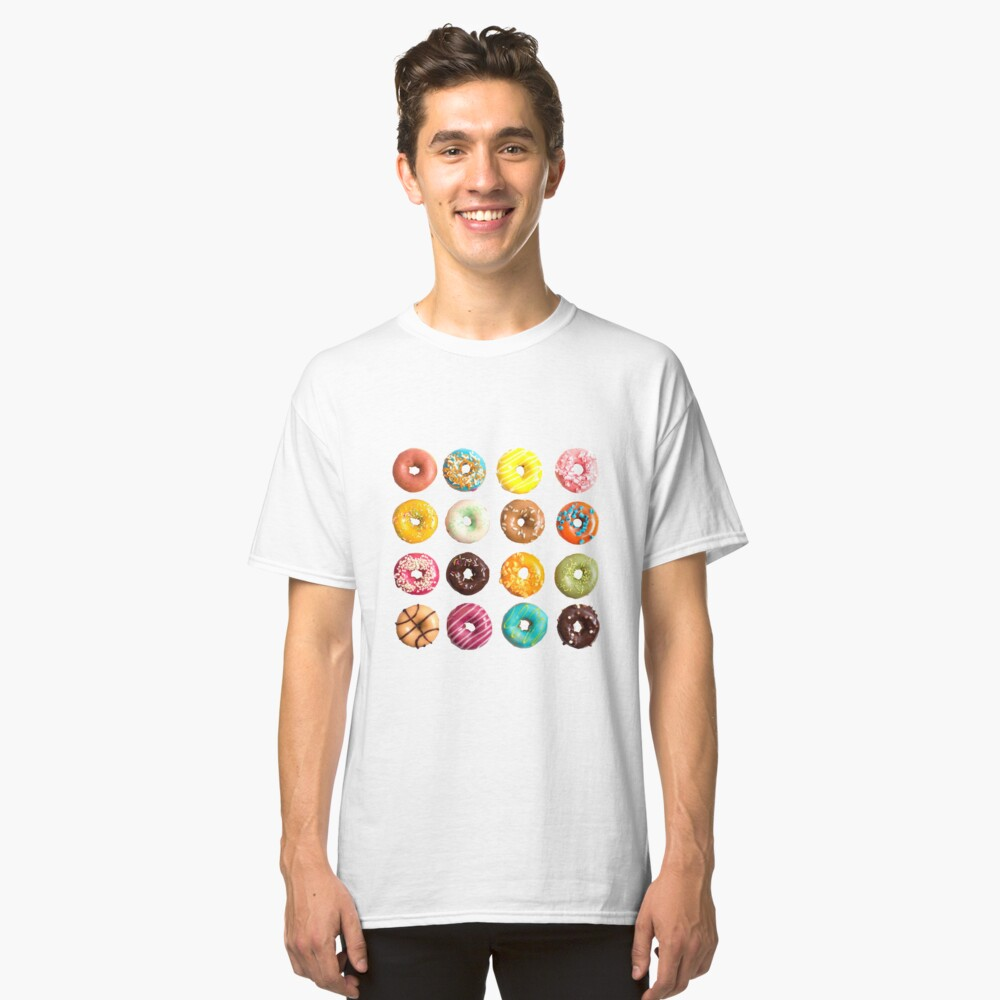 Donuts Classic T-Shirt Front