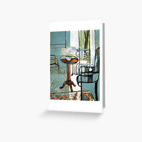 Henri Matisse The Window 1916 Artwork for Wall Art, Prints, Posters, Tshirts, Men, Women, Kids Greeting Card