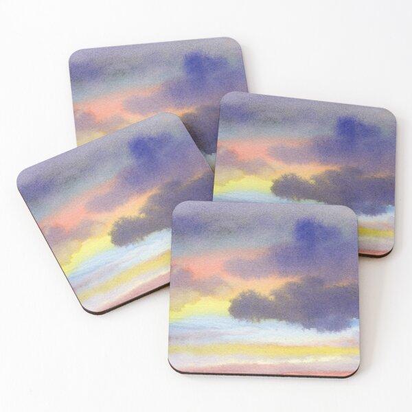 Morning Fog Coasters (Set of 4)