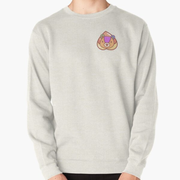 Stitches and peach Pullover Sweatshirt