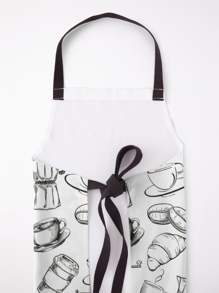 Alternate view of Coffee Pattern Design Apron