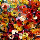 Aboriginal Art - Floral by cjcphotography