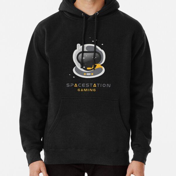Space Station Gaming Pullover Hoodie