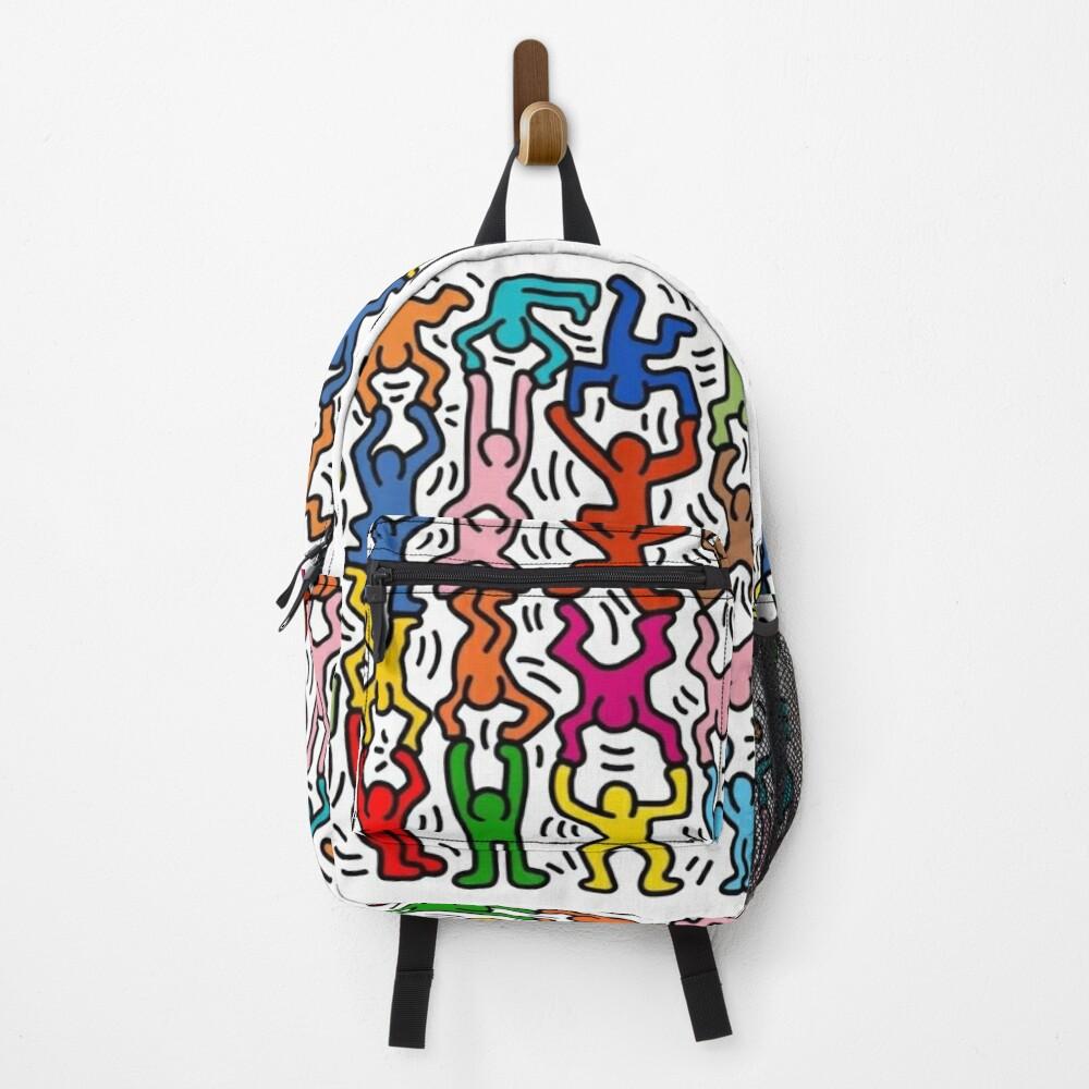 haring copy pop art Backpack