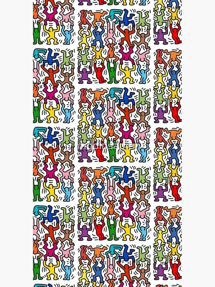 haring copy pop art by mgdlnsapien